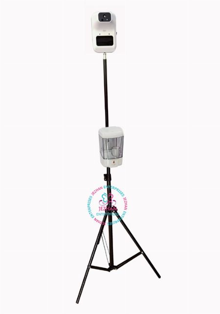 Thermal Scanner with Stand and Alcohol Dispenser with tripod -- All Health and Beauty -- Quezon City, Philippines
