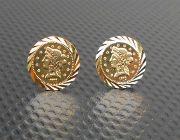 Gold GOLDEN earrings earring 18k -- Everything Else -- Metro Manila, Philippines