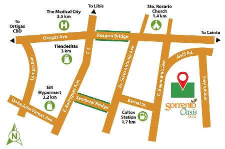 Pasig 2 BR for sale, 2 BR for sale in Pasig near Medical City -- Condo & Townhome -- Pasig, Philippines