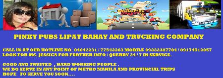 LIPAT BAHAY AND TRUCKING COMPANY -- Vehicle Rentals -- Baguio, Philippines