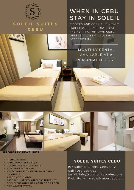 Room for Rent -- Rooms & Bed Cebu City, Philippines