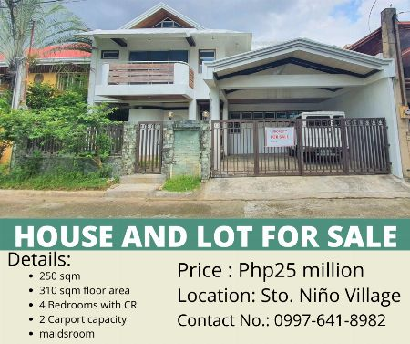 house and lot -- House & Lot Cebu City, Philippines