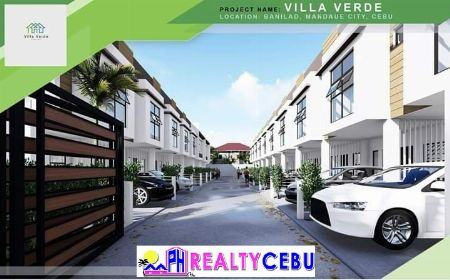 VILLA VERDE MANDAUE - 4 BR SMART HOUSE FOR SALE -- House & Lot -- Cebu City, Philippines