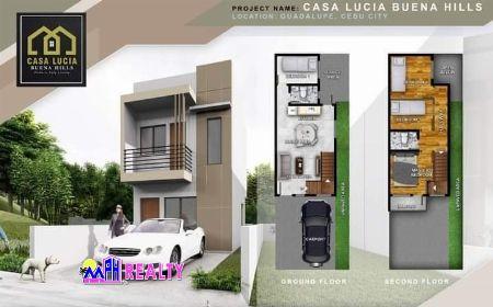 CASA LUCIA - HOUSE FOR SALE IN GUADALUPE, CEBU -- House & Lot -- Cebu City, Philippines
