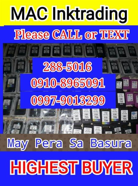TONER AND INK CARTRIDGES -- Printers & Scanners Valenzuela, Philippines