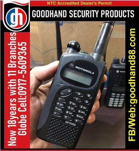 Motorola 2Way radio VHF-UHF Model:GP2000 -- Marketing & Sales -- Metro Manila, Philippines