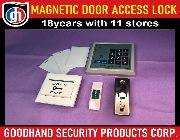 Biometrics Fingerprint Magnetic Door Access System with  Magnetic Card, Password Keypad -- Electricians -- Metro Manila, Philippines