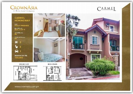 3BR house & lot, bacoor cavite -- House & Lot -- Bacoor, Philippines