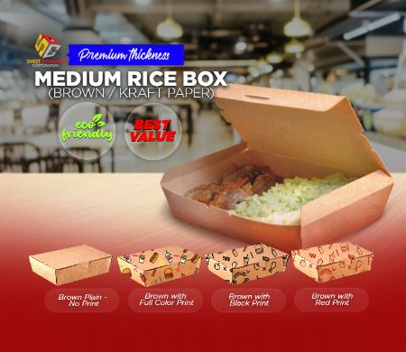 Paper, Rice Box, Kraft, SDC, Boxes, food packaging, Medium -- Other Services Valenzuela, Philippines