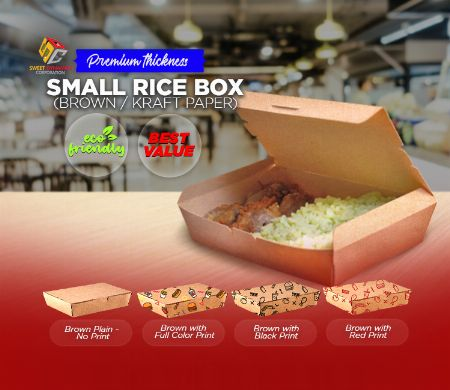 Paper, Rice Box, Kraft, SDC, Boxes, food packaging -- Other Services Valenzuela, Philippines