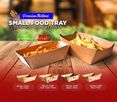 Paper, Food, Kraft, SDC, Boxes, food packaging, Tray, Brown -- Other Services Valenzuela, Philippines