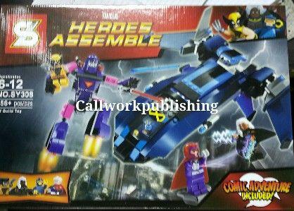 sy308 lego superheroes storm cyclops wolverine, -- Toys Metro Manila, Philippines