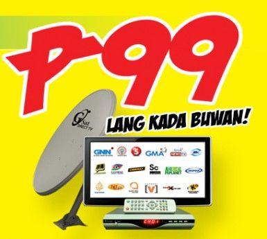 gsat direct tv pinoy digital satellite dish cable dealer 99 cignal black bo, -- All Electronics -- Metro Manila, Philippines