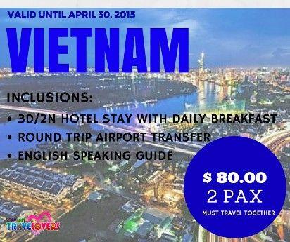 vietnam tour package, vietnam package deals, vietnam promo packages, vietnam travel packages, -- Travel Agencies Metro Manila, Philippines