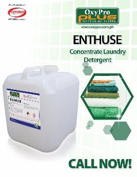 enthuse concentrated laundry detergent, oxypro laundry detergent, laundry liquid detergent, oxypro cleaning sysatem, -- All Home & Garden Metro Manila, Philippines