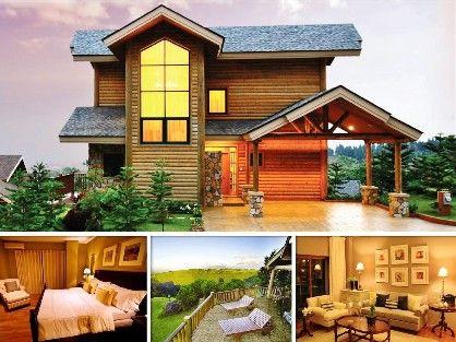 woodlands log cabin, tagaytay highlands h, -- Single Family Home Metro Manila, Philippines