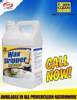 wax stripper supreme, heavy duty wax remover, wax floor cleaner, powerclean chemicals, -- All Home & Garden Metro Manila, Philippines