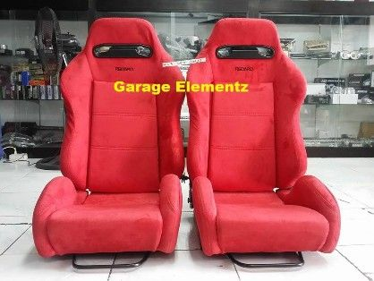 recaro sr3 racing seat reclinable with universal railings imported, -- All Accessories & Parts -- Metro Manila, Philippines