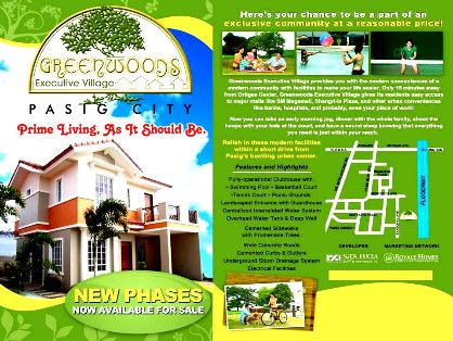 greenwoods pasig executive village lots for sale, -- Land -- Pasig, Philippines