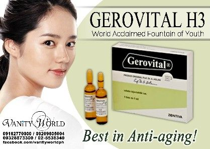 anti aging fountain of youth iv gerovital h3, -- All Beauty & Health -- Manila, Philippines