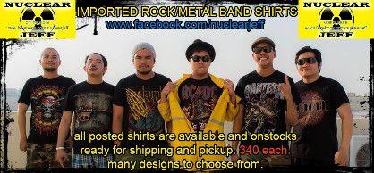 band shirt, -- Clothing Batangas City, Philippines