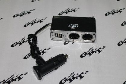 2 socket 2 usb car cigarette lighter, -- All Electronics -- Cebu City, Philippines