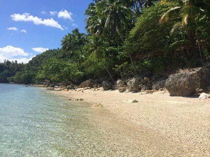 White sand Beach Aundanao -- Land -- Davao del Norte, Philippines