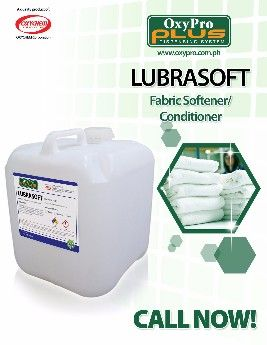 lubrasoft fashion, oxypro cleaning system, oxypro fabric softener, laundry chemicals, -- All Home & Garden Metro Manila, Philippines
