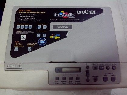 brother dcp 135c multi function printer, printer for sale, scanner, copier, -- Printers & Scanners -- Metro Manila, Philippines