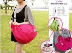 3way easy to carry bag, korean bag, 3way easy foldable bag, -- Bags & Wallets -- Manila, Philippines