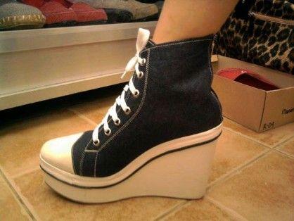 converseinspired sneakerwedge, -- Shoes & Footwear -- Calamba, Philippines