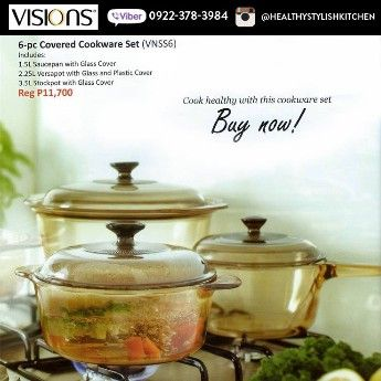 visions cookingware, visions manila, visions for sale, -- Dining Room Manila, Philippines