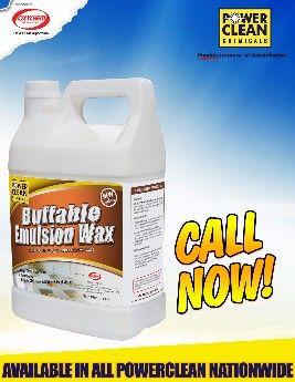 buffable emulsion wax, powerclean chemicals, powerclean cleaning solutions, cleaning solutions, -- All Home & Garden Metro Manila, Philippines