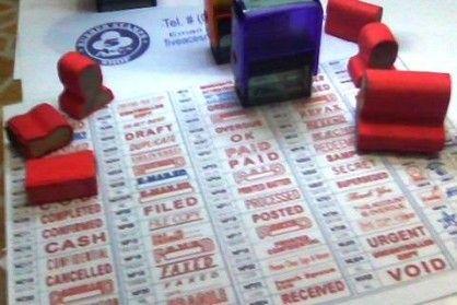machine made rubber stamp, notary rubber stamp, rubber stamp shiny, rubber stamp trodat, -- Other Services -- Metro Manila, Philippines