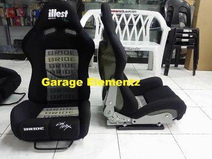 bride lowmax illest racing seat black, carbon fiber back, -- All Accessories & Parts -- Metro Manila, Philippines