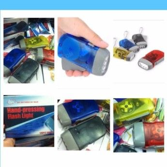 hand press flashlight, crank flashlight, -- Everything Else -- Manila, Philippines