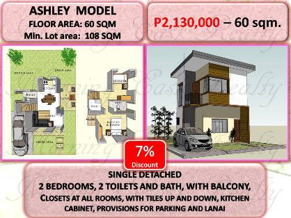house and lot in bin, -- Single Family Home -- Binan, Philippines