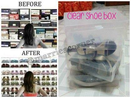 clear shoe box, -- Everything Else Cebu City, Philippines