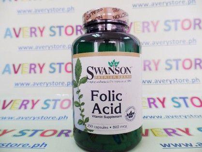 swanson folic acid 800 mg 250 caps, folic acid, folic acid 250 caps, -- Everything Else Marikina, Philippines