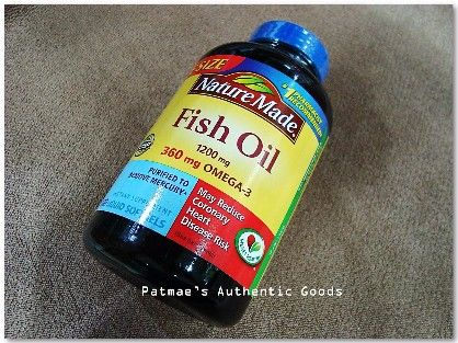 branded supplement patmae, fish oil, nature made, omega 3, -- Nutrition & Food Supplement Metro Manila, Philippines