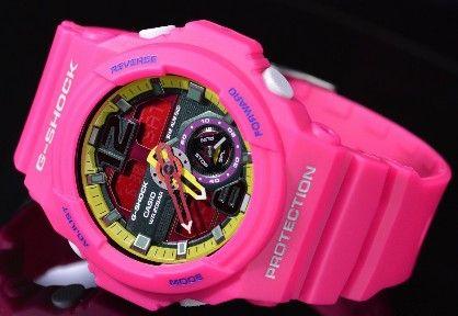 casio g shock ga310 4a anadigi xl multidimensional matte pink, -- Watches Metro Manila, Philippines