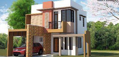 elegant 2 storey house, -- House & Lot -- Lipa, Philippines
