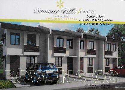 summerville 7, 564 a month subd in cordova, -- Townhouses & Subdivisions -- Cebu City, Philippines