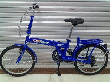 folding bike, size 20, steel frame, w suspension, -- All Bicycles Metro Manila, Philippines