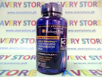 puritans pride glucosamine chondroitin msm 60 caps, msm, glucosamine 60 caps, -- Everything Else Marikina, Philippines